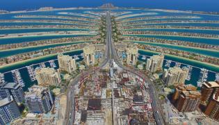 Palmowe wyspy w Dubaju