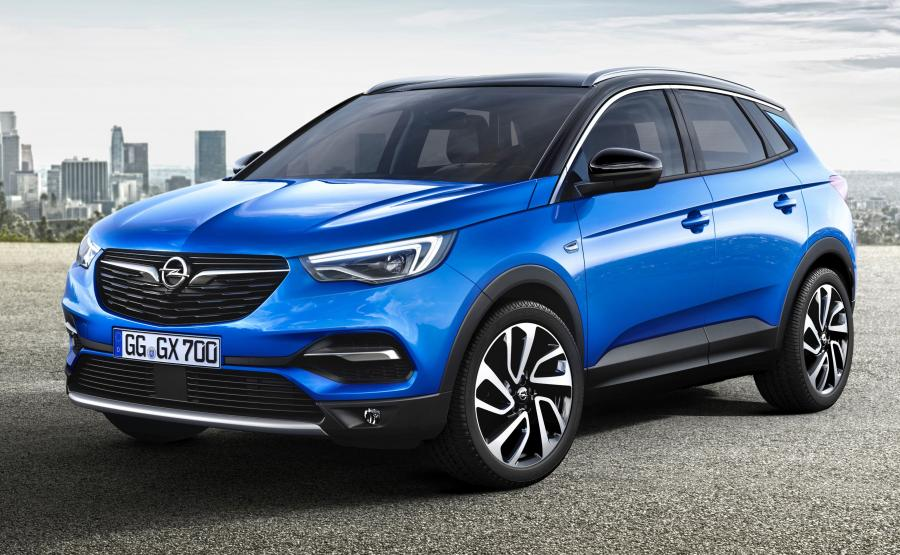 Opel Grandland X będzie dostępny w dwukolorowym nadwoziu