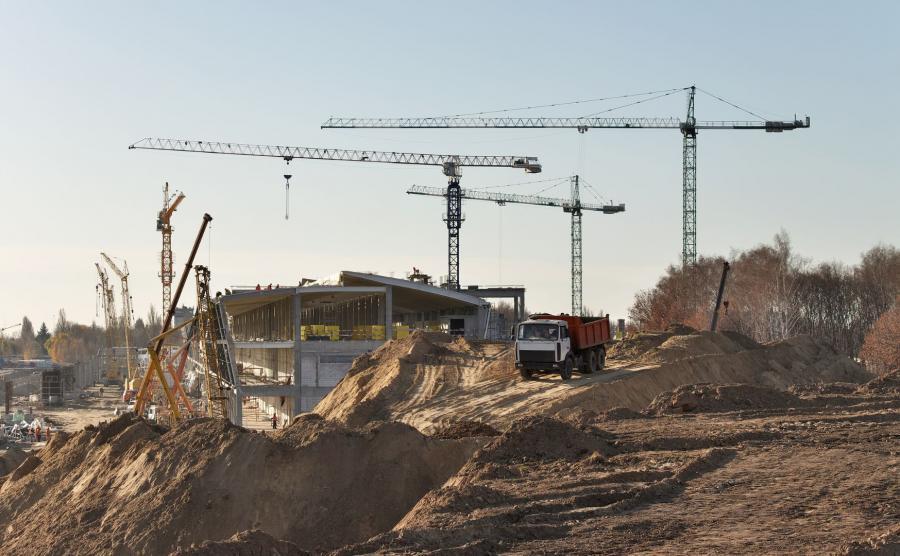 Budowa lotniska