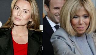 Hanna Lis, Emmanuel i Brigitte Macron