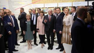 Andrzej Duda, Agata Kornhauser-Duda, Frank-Walter Steinmeier, Elke Buedenbender