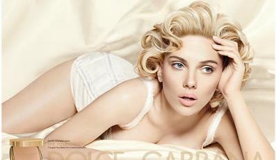 Scarlett Johansson wystapiła w reklamie Dolce & Gabbana