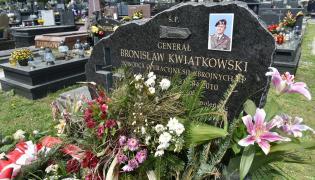 Grób gen. Bronisława Kwiatkowskiego