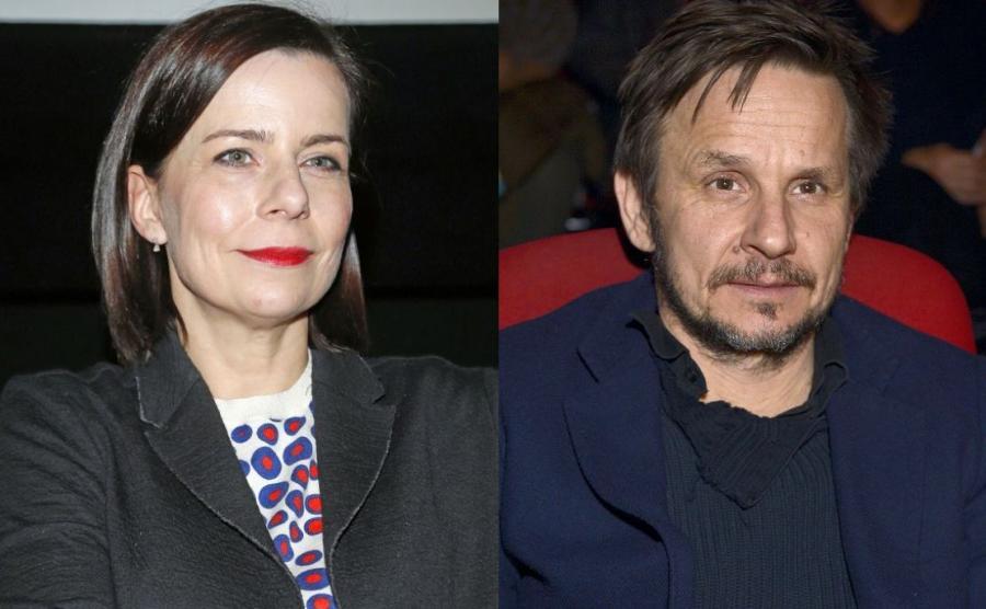 Agata Kulesza i Bartłomiej Topa