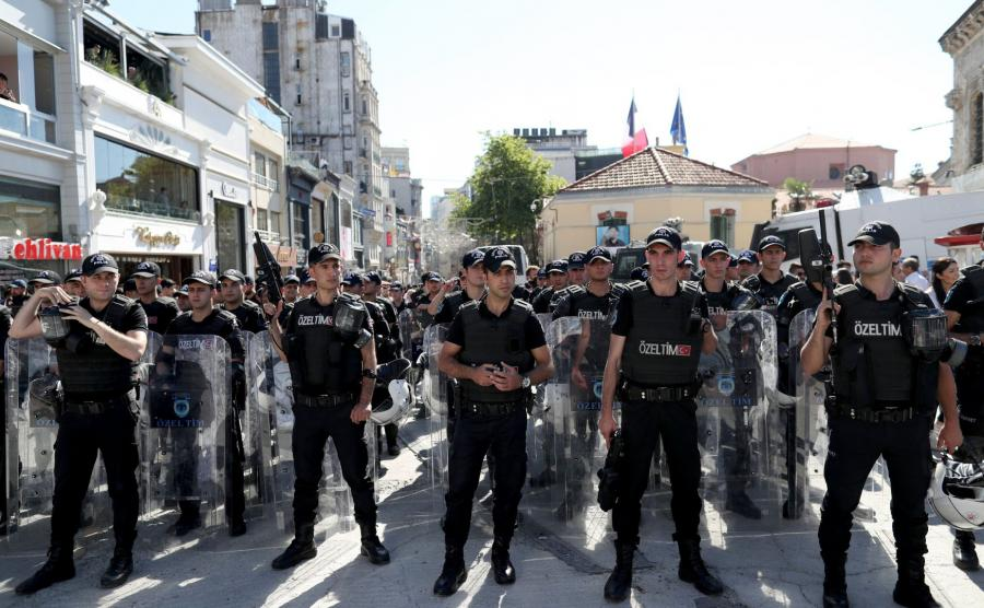 Tureccy policjanci