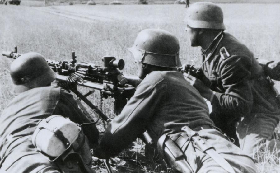 Niemieccy żołnierze w czasie II wojny światowej