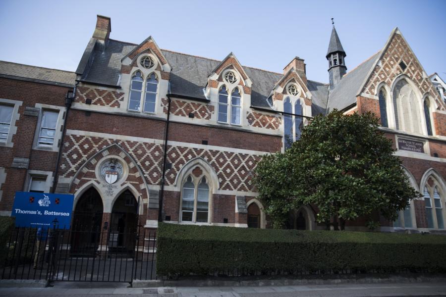 Szkoła, do której chodzi książę George