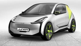 Łukasz Myszyński zaprojketował samochód o nazwie Junior