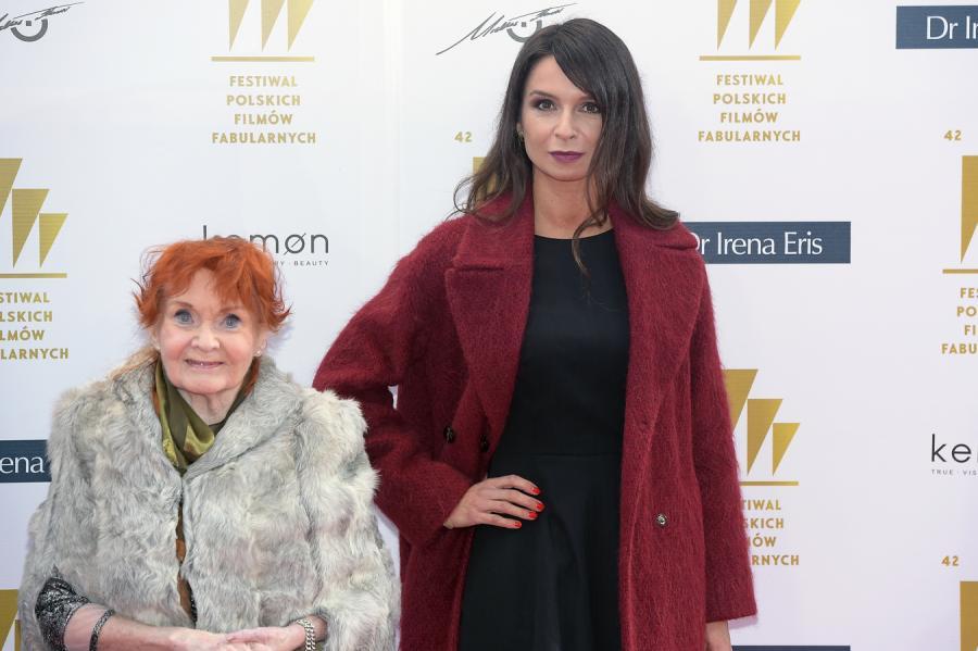 Marta Kaczyńska i Barbara Krafftówna