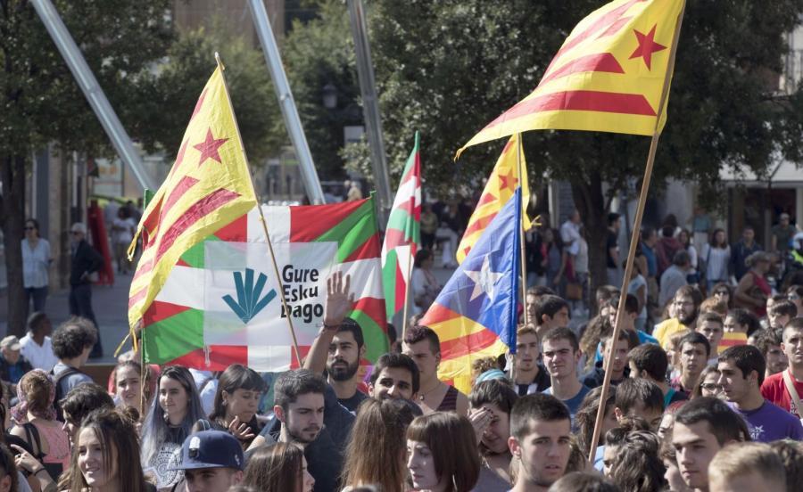 Zwolennicy referendum w Katalonii