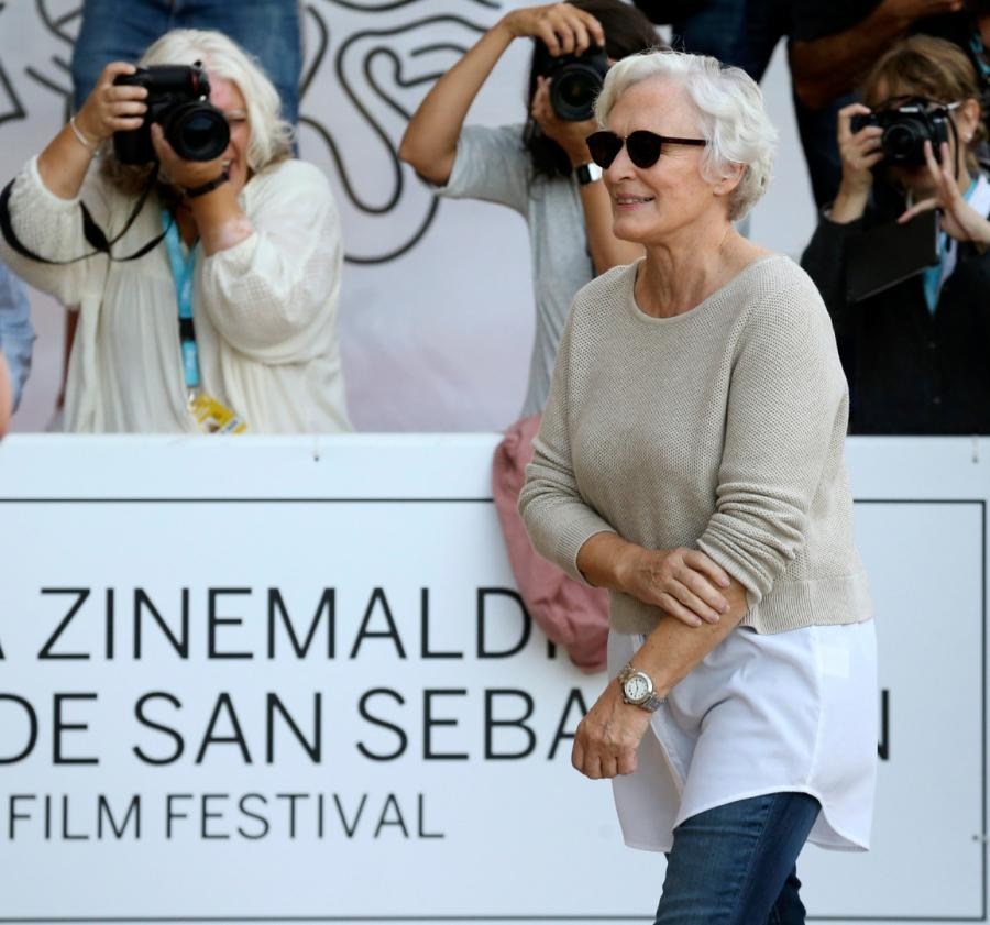 Glenn Close na festiwalu w San Sebastian