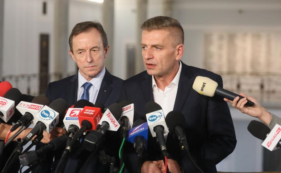 Senator PO Tomasz Grodzki oraz poseł PO Bartosz Arłukowicz