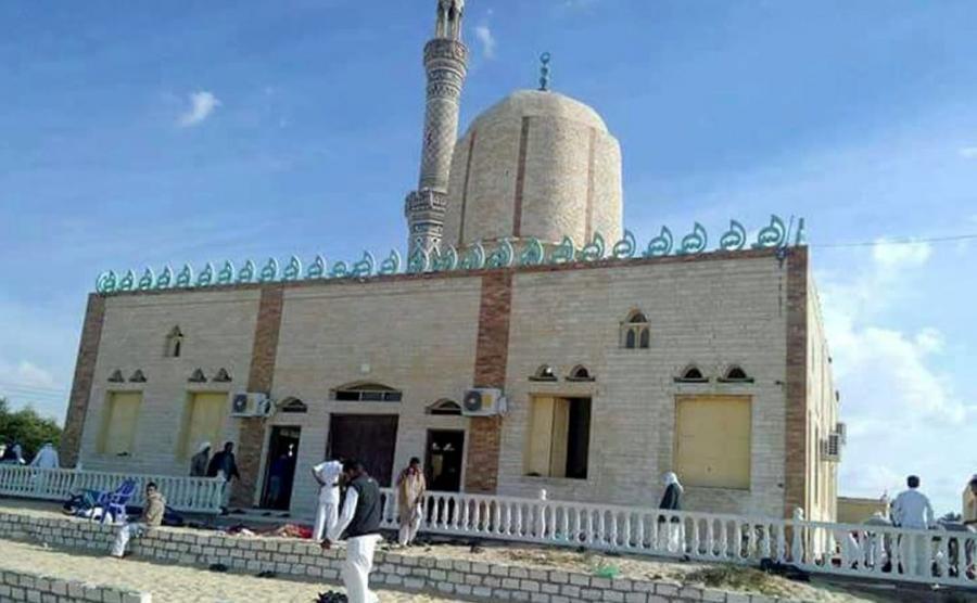 Zamach na meczet w Egipcie