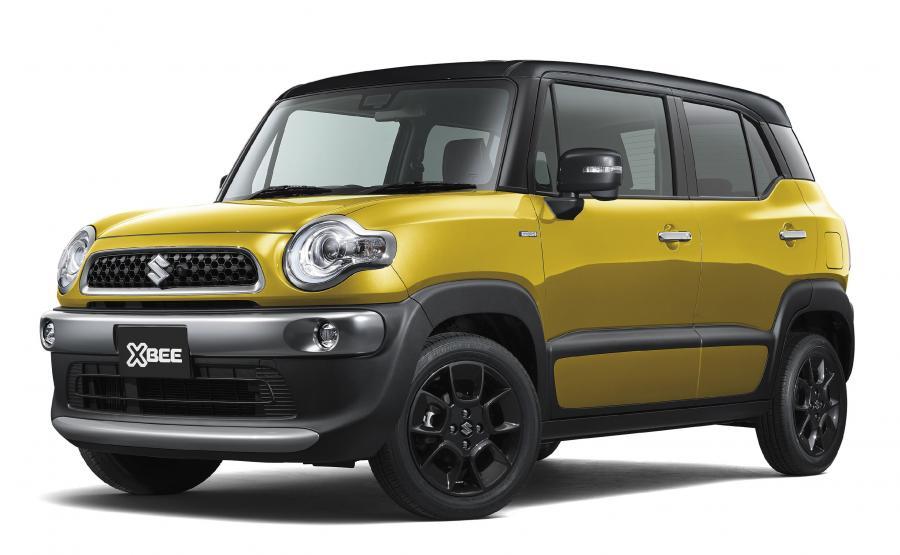 Suzuki XBEE. Zwarte wymiary mają dać mu przewagę nad konkurencją jeśli chodzi o zwrotność i właściwości jezdne