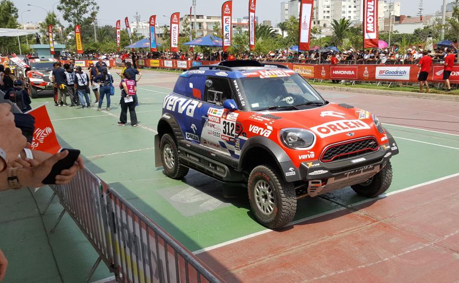 Mini John Cooper Works Rally, którym Polak startuje w Dakarze został przygotowany przez niemiecką stajnię X-raid