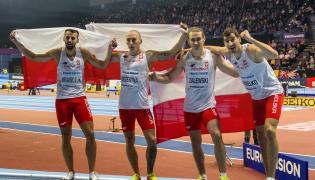 Karol Zalewski, Rafał Omelko, Łukasz Krawczuk i Jakub Krzewina