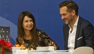 Marta Kaczyńska i Piotr Zieliński