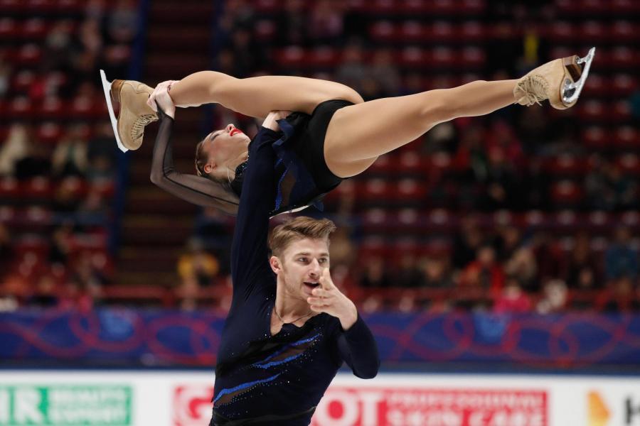 Kristina Astakhova i Alexei Rogonov