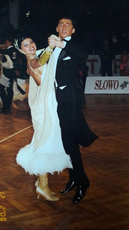 Rafał Maserak i Sylwia Zając w latach 90-tych