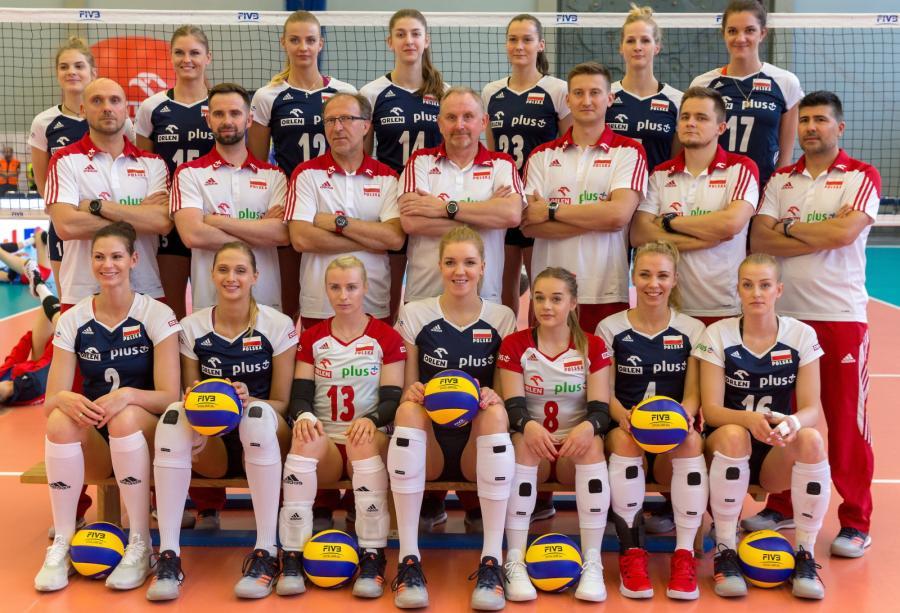 Siatkarska reprezentacja Polski kobiet przed pierwszym meczem towarzyskim z Czechami
