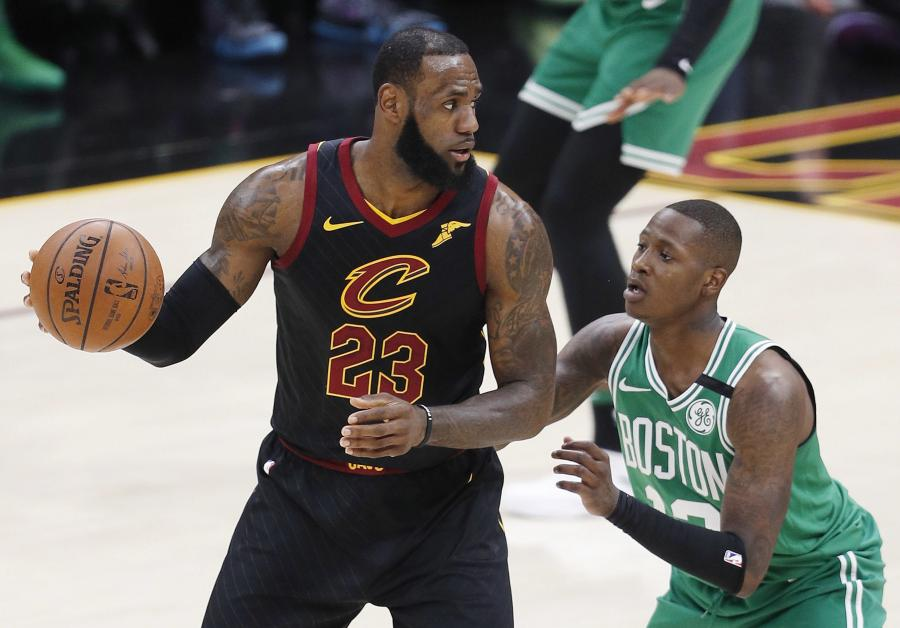 Terry Rozier i LeBron James