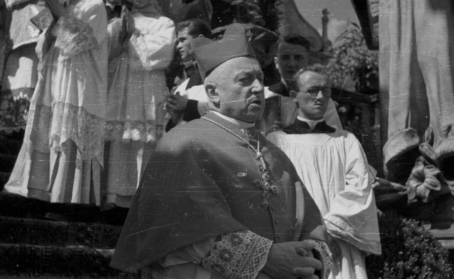 Prymas Polski kardynał August Hlond