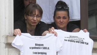 Protest w Sejmie