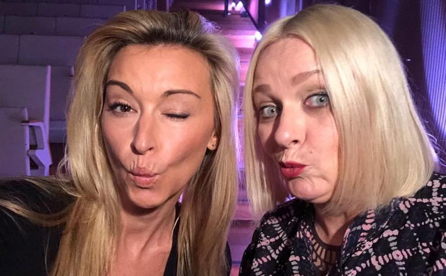 Martyna Wojciechowska i Katarzyna Nosowska
