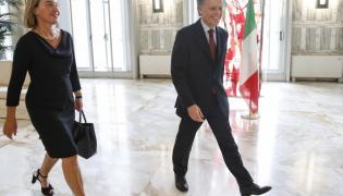 Federica Mogherini i Enzo Moavero Milanesi