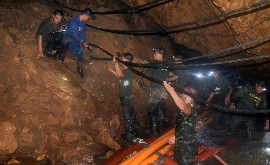 Akcja ratunkowa w jaskini