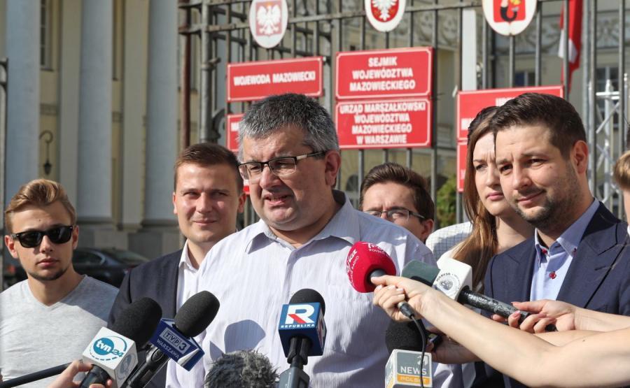 Krzysztof Czuma i Patryk Jaki