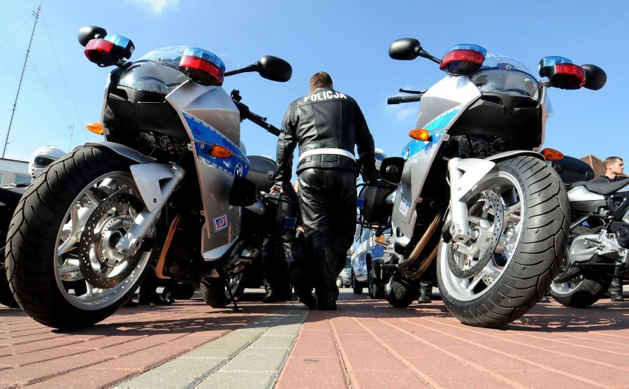 Policyjne motocykle BMW