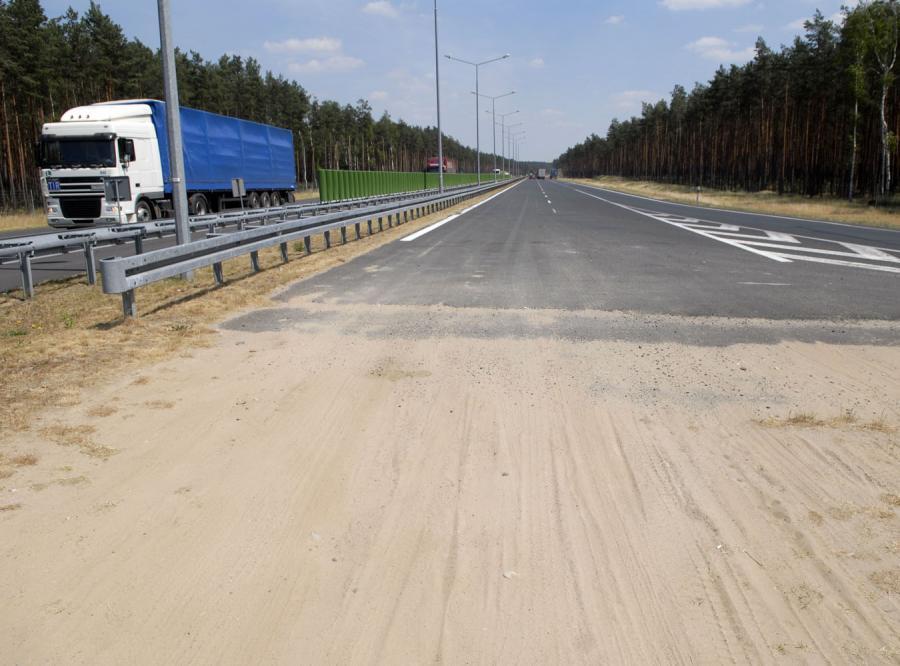 Chińczycy na budowie trasy A2