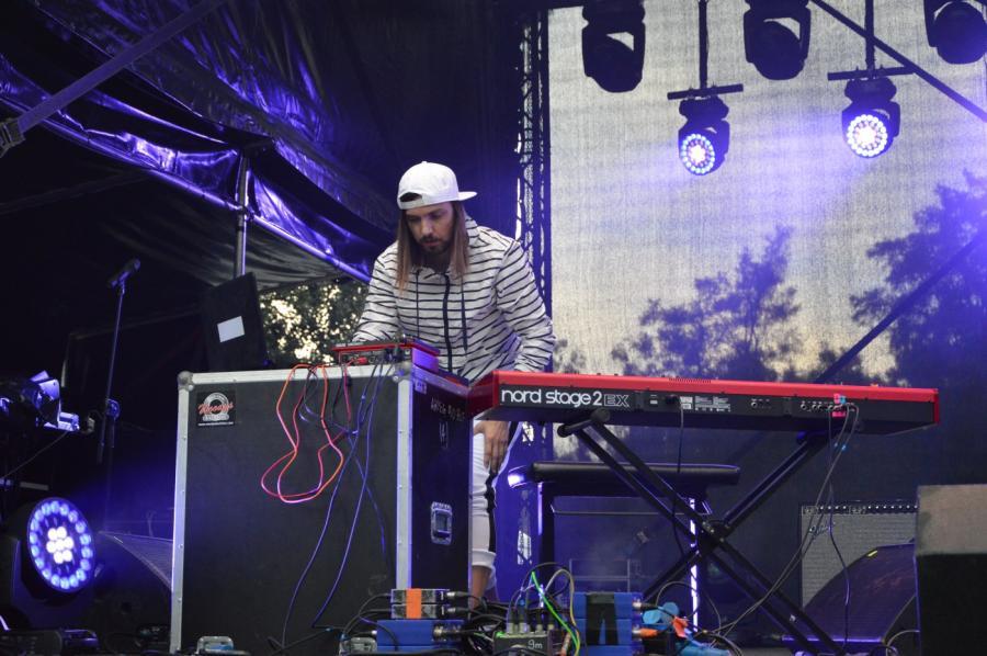 Miro Kępiński na koncercie Męskie Granie 2018. Warszawa 2018.08.20
