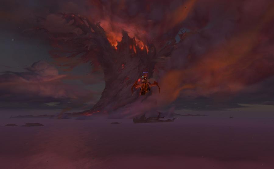 Płonący Teldrassil