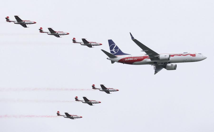 Boeing 737 podczas Air Show