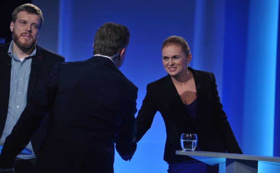 Adrian Zandberg i Barbara Nowacka