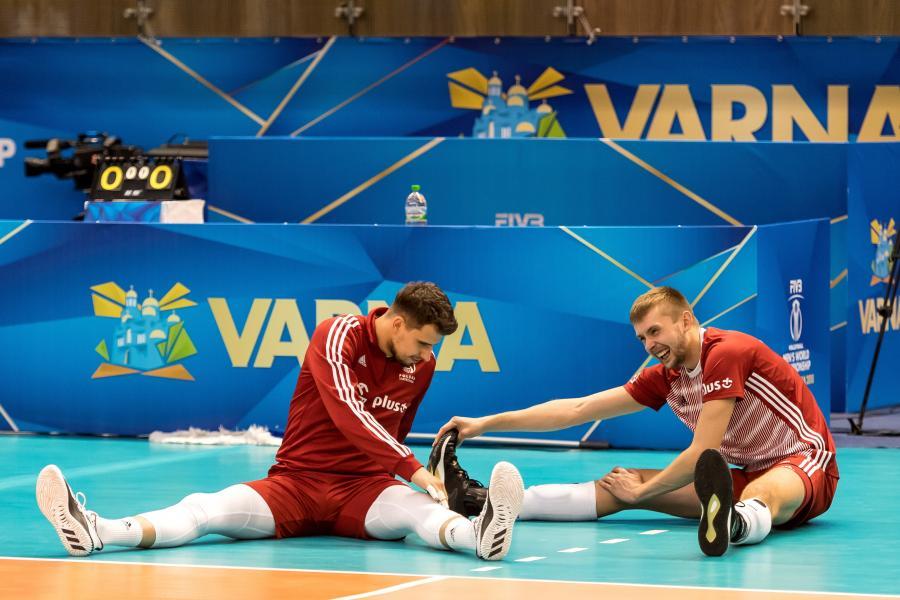 Fabian Drzyzga (L) i Mateusz Bieniek (P)