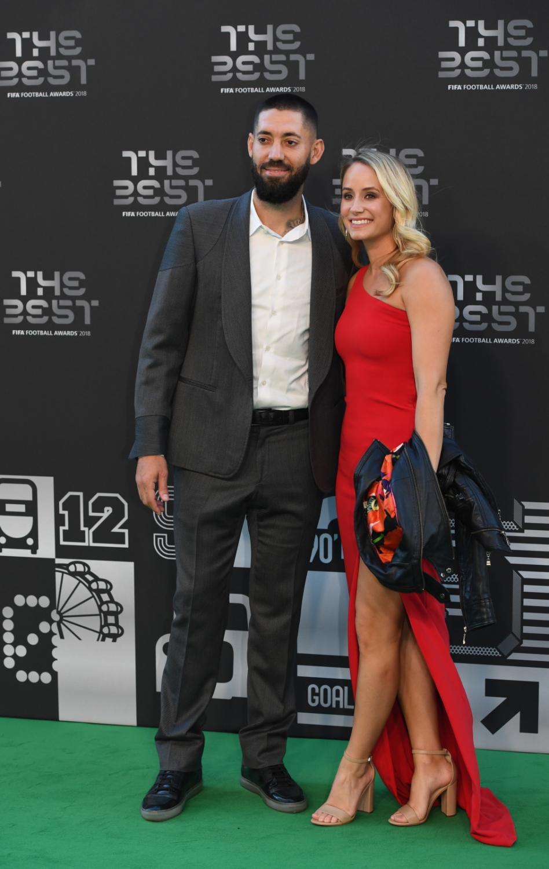 Clint Dempsey z żoną