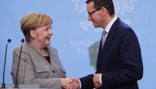 Angela Merkel i Mateusz Morawiecki w Warszawie