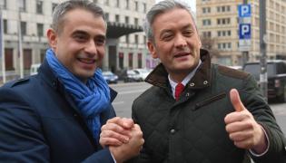 Robert Biedroń i Krzysztof Gawkowski