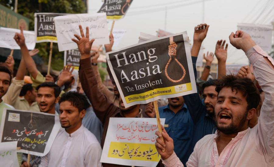 Protesty po decyzji o uwolnieniu Asii Bibi