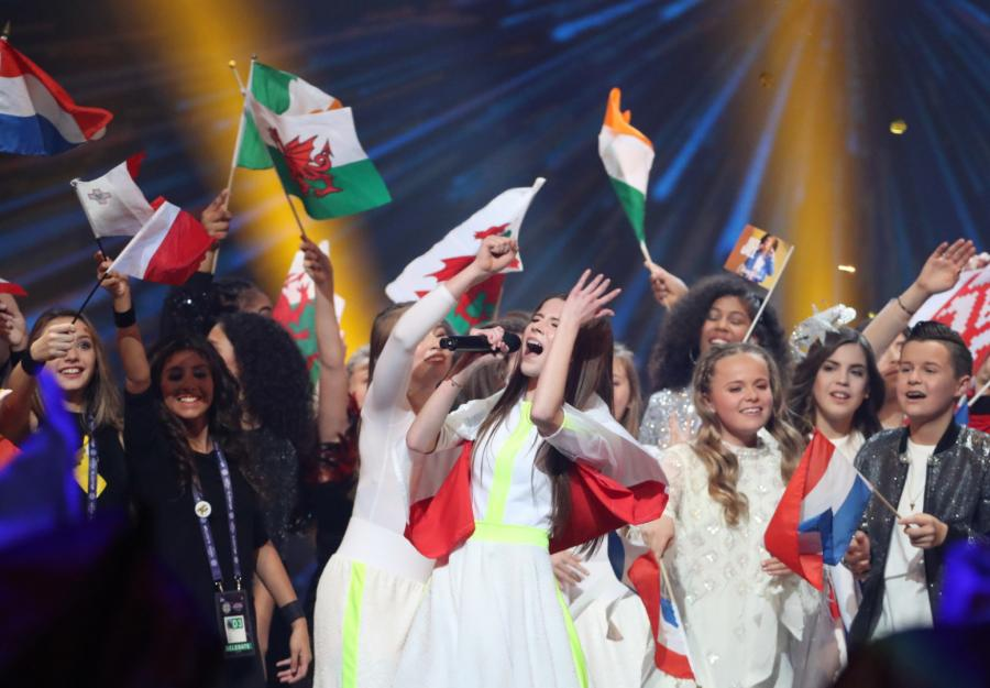 Roksana Węgiel podczas konkursu Eurowizja 2018