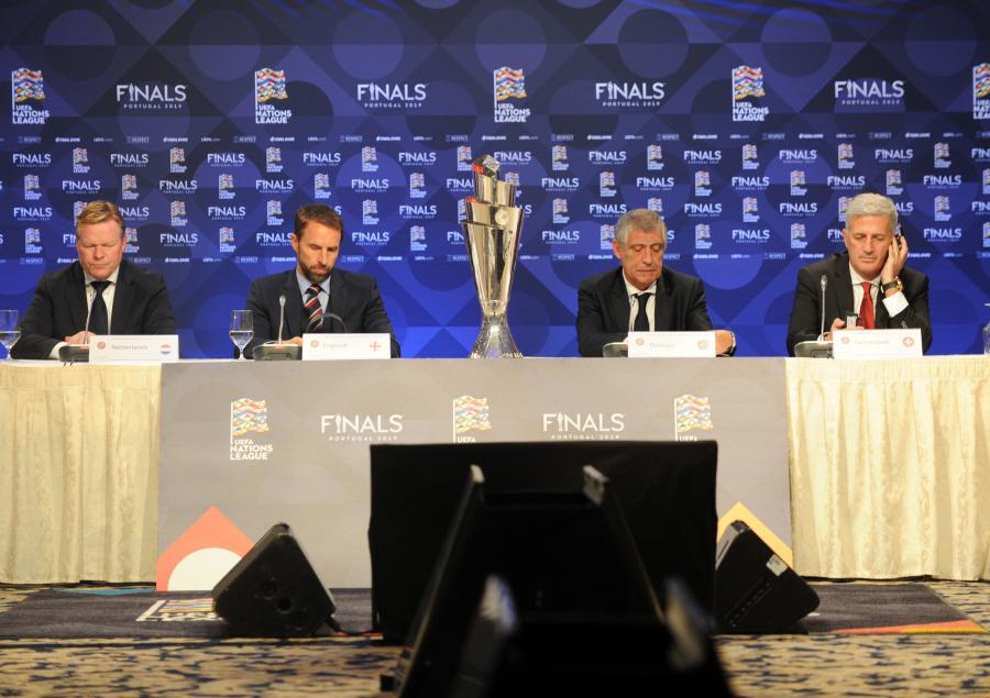 Ronald Koeman, Gareth Southgate, Fernando Santos i Vladimir Petkovic