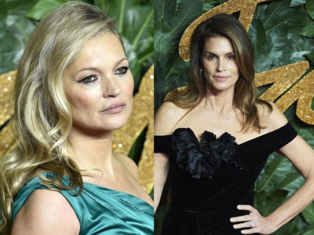 Kate Moss i Cindy Crawford