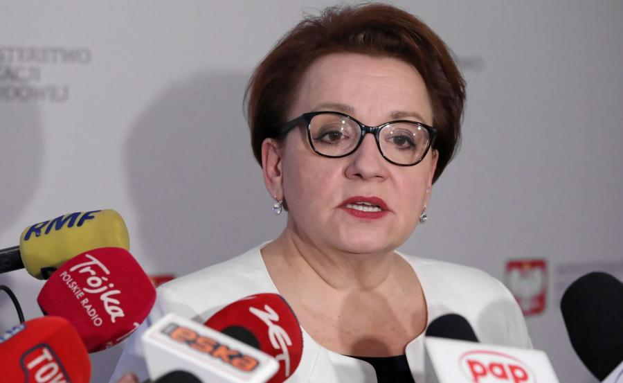 Anna Zalewska minister edukacji