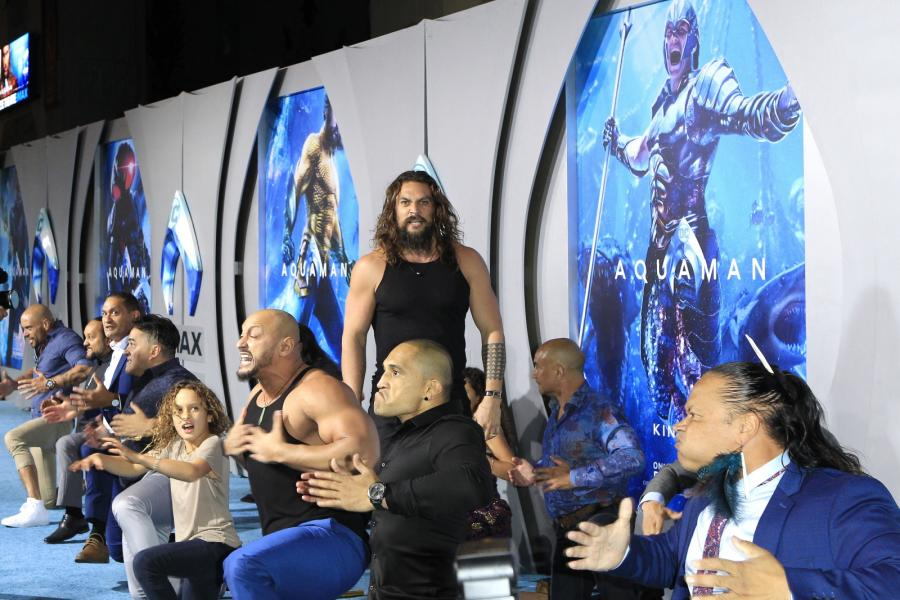 "Hollywodzka premiera filmu ""Aquaman"""