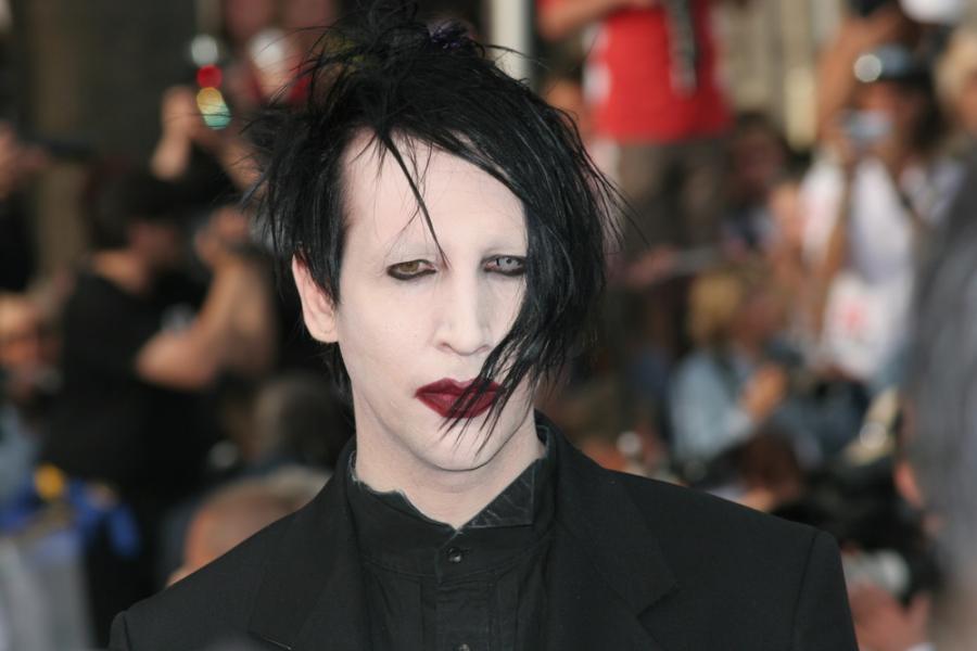 Rok 2006. Marilyn Manson w Paryżu
