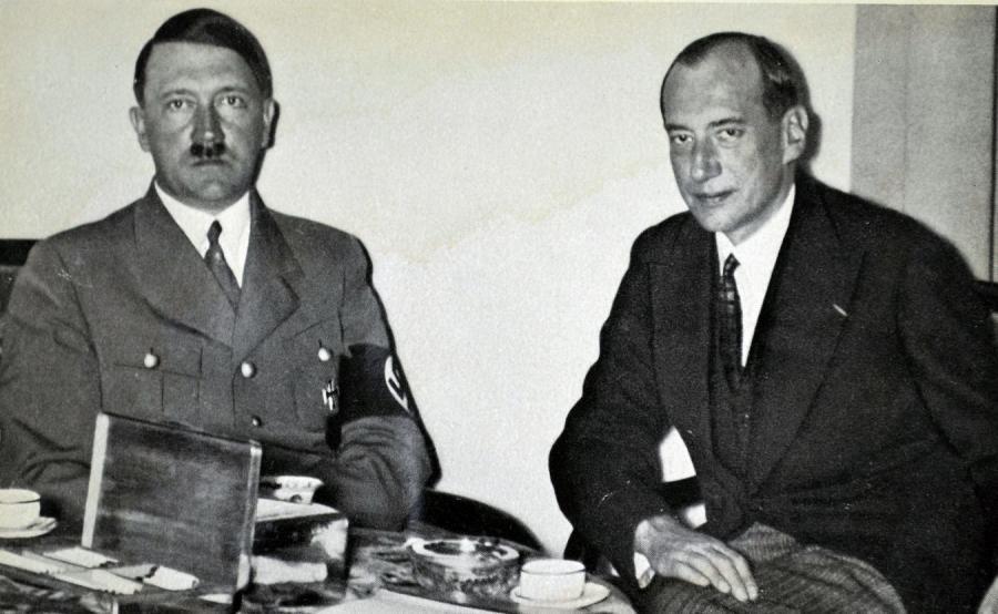 Adolf Hitler i Józef Beck