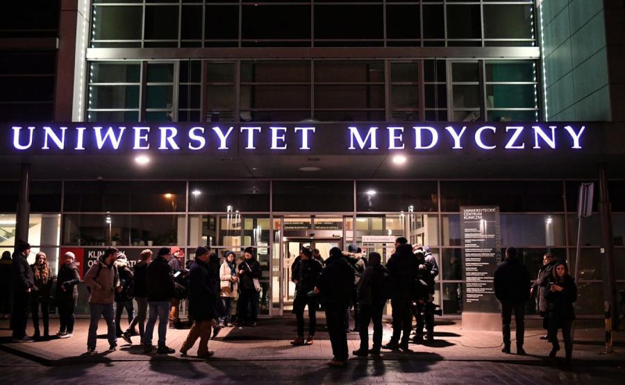 Uniwersyteckie Centrum Kliniczne, gdzie operowany był prezydent Adamowicz